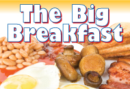 Big Breakfast in Dale Abbey