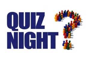 Charity Quiz Night 21st April 2017