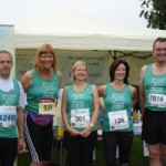 Nottingham Marathon runners