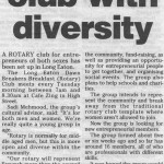 Breakfast Club with Diversity